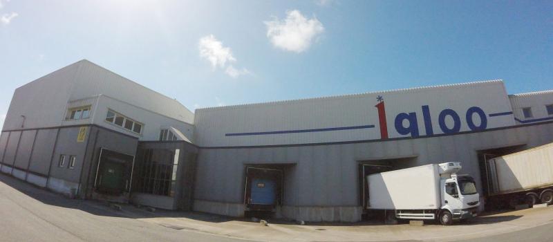 entrepôt frigorifique - plateforme logistique - igloo
